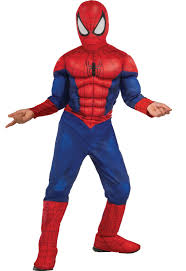 ultimate spider man muscle chest kids costume buycostumes com