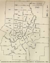 Lakewood Nj Map 1940 Census Tracts Indiana University Libraries