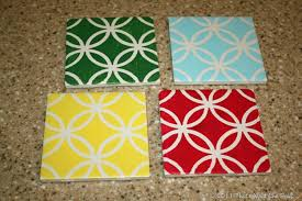 that u0027s what che said diy painted tile coasters that u0027s