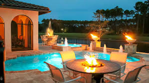 Patio That Turns Into Pool Poolside Designs Pool Shapes And Designs