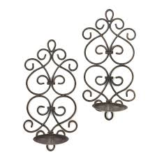 Antique Iron Sconces Wrought Iron Wall Sconces Ideas Wall Lighting With Antique Iron