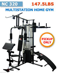 new multi station home gym fitness equipment bench with weight