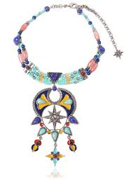 cheap necklace stores images Roberto cavalli ethnic statement choker necklace multicolor women jpg