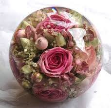 wedding flowers paperweight tarax infinity products ltd real flowers lucite domed paperweight