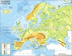 map of europe picture physical map of europe maps geography
