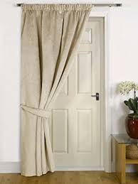 Door Draft Curtain Single Thermal Door Curtain Amazon Co Uk