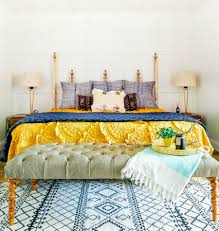 step inside a layered family home with character yellow bed
