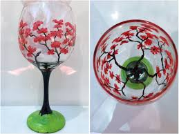 wine glass painting wine glass painting party long island home painting party