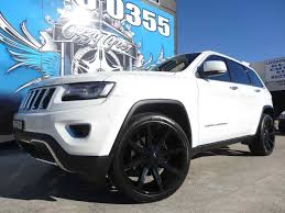 jeep grand cherokee blackout jeep grand cherokee with kmc slide gloss black wheels kmc wheels