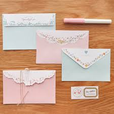 stationery envelopes mirui lovely envelope stationery sets including two envelopes and