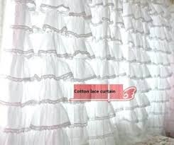 White Cotton Curtains Cotton Lace Curtains U2013 Teawing Co