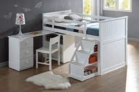 Bunk Bed With Storage White Bunk Beds With Storage And Its Advantages Home Interiors