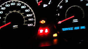 2007 chevy cobalt dashboard lights on youtube
