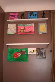 home project kids u0027 art display center the new home economics