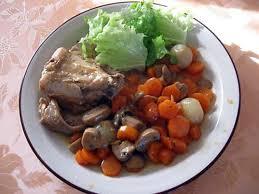 cuisiner rable de lapin recette de râbles de lapin aux carottes et aux chignons