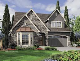 european cottage house plans diseño de casa con cochera independiente casas