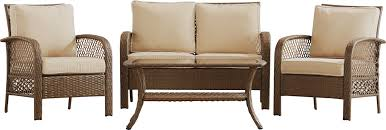 Sofa King Jokes by Beachcrest Home Niceville 4 Piece Deep Seating Group With Cushion