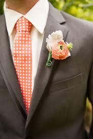 coral boutonniere cadmium orange wedding inspiration for a wedding orange