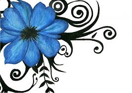flower tribal drawing how to draw an hawaiian flower tribal