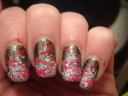 glitter nail designs nail laque and design ideas