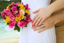 Wedding Flowers Pink St John Virgin Islands Florists Beach Wedding Flowers Island