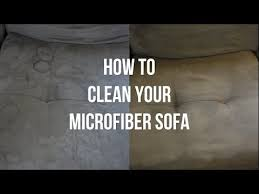 How To Clean Suede Sofas How To Clean A Microfiber Couch Itsjustkelli Youtube