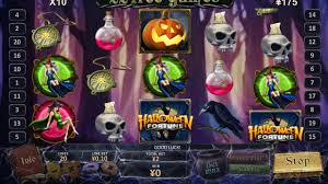 free halloween slots halloween fortune big win playtech slot game youtube