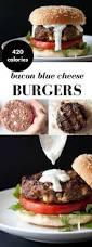 blue cheese and bacon stuffed burgers recipe bacon stuffed