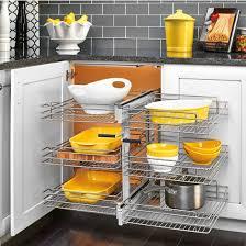 3 tier kitchen cabinet organizer cookware organizers pot pan organizers bakeware organizers for
