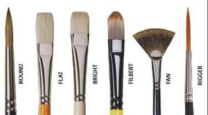 fan brush oil painting oil painting 101 choosing brushes art by greg kimsey