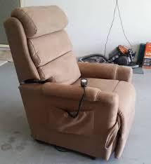 electric recliner topform brand armchairs gumtree australia