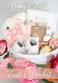baby easter basket 12th and white baby s easter basket