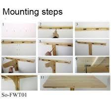diy folding train table amazon com sobuy wall mounted drop leaf table folding kitchen