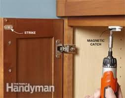 how to keep cabinet doors closed 10 minute house repair and home maintenance tips doors easy and