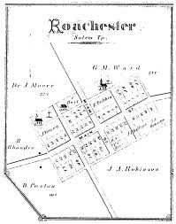 Salem Ohio Map by Old Quaker Cemetery At Roachester Salem Twp Warren County Ohio