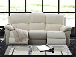 canapé cuir 3 places relax canapé ou fauteuil relax en cuir 3 coloris milagro