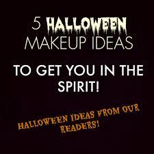 spirit of halloween job application 5 halloween makeup ideas to get you in the spirit u2014 glossible