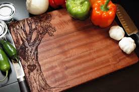 cutting board with recipe engraved amazing handmade cutting board designs