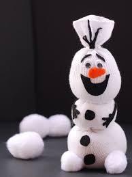diy frozen olaf snowman and frosty ornaments