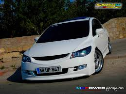 honda civic hatchback modified customized sports honda civic 2008 9 wallpaper mymodifiedcar com