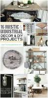 April Joy Home Decor And Furniture Style Trend 16 Rustic Industrial Decor Ideas And Diy Projects
