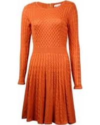 yellow sweater dress find the best savings on calvin klein s fit flare cable