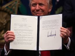 Presidents Of The United States A Quick Guide To Every Executive Action Trump Took In His 100 Days