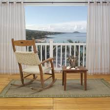 Sunbrella Curtains With Grommets by Sheer Khaki Stripe Polyester Outdoor Curtains Dfohome