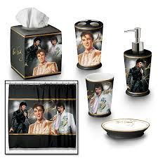 amazon com the elvis presley bath ensemble 6 piece accessories
