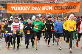 where to run a turkey trot in chicago