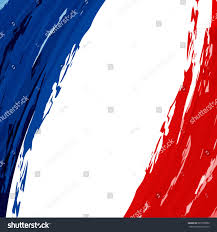Flag Of Franc National Flag France Blue White Red Stock Vector 687308599