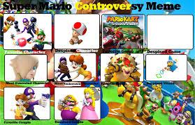 Super Mario Memes - super mario controversy meme by jyxia on deviantart