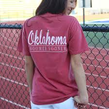 Comfort Colors Shirts Ou Double Lines F B Comfort Colors From Lushfashionlounge Com