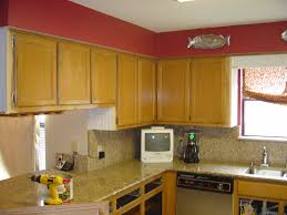 Diy Kitchen Cabinets Painting by Painting Refinish Oak Cabinets Paint Kitchen Cabinets Diy